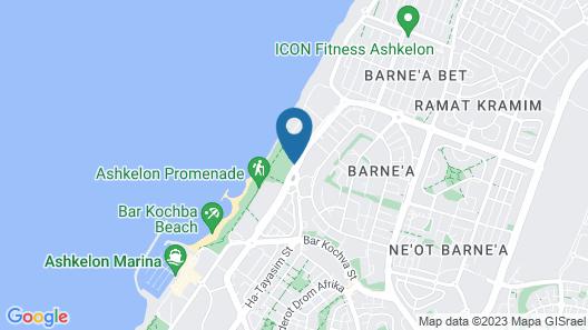 Harlington Ashkelon Map
