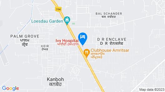 Regenta Inn Amritsar Airport Road Map