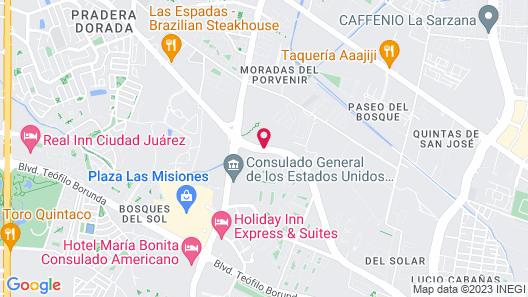 Hotel Consulado Inn Map
