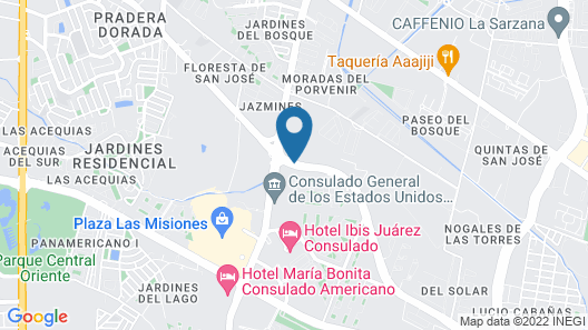 Hotel Conquistador Inn By US Consulate Map