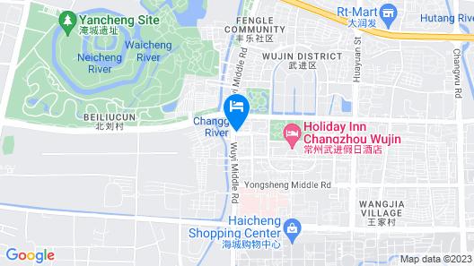 Holiday Inn Changzhou Wujin Map