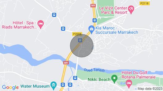 Villa Jannah Marrakech - Residence River Palm Palmeraie Map