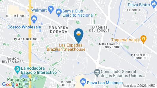 La Quinta by Wyndham Cd Juarez Near US Consulate Map
