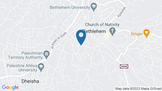 Aman Hostel Map
