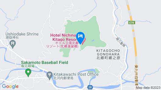 Hotel J's Nichinan Resort Map