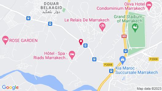 Palais El Miria Map