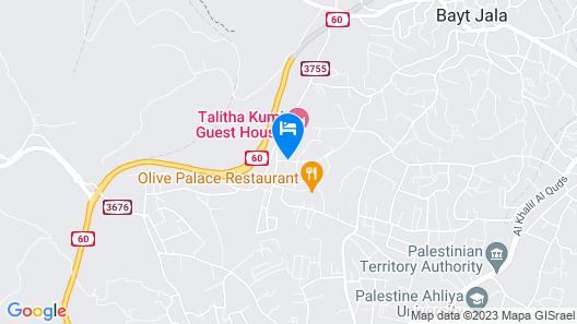 Talitha Kumi Guest House Map