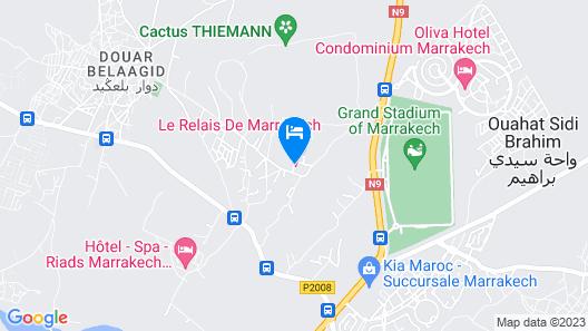 Le Relais De Marrakech Map