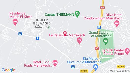 Hotel Marrakech Le Sangho Privilege Map