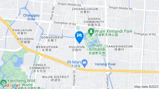 Hilton Changzhou Map