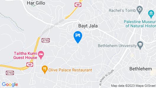 Luxurious Studios-Beit jala Map