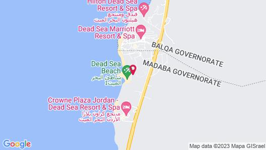 Dead Sea Spa Hotel Map