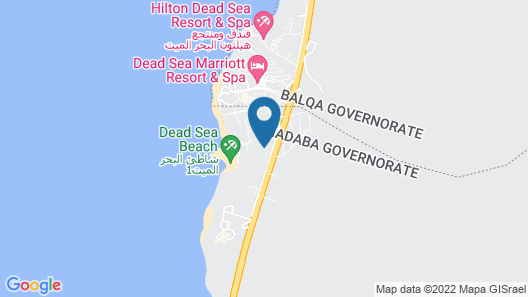 Crowne Plaza Jordan Dead Sea Resort & Spa, an IHG Hotel Map