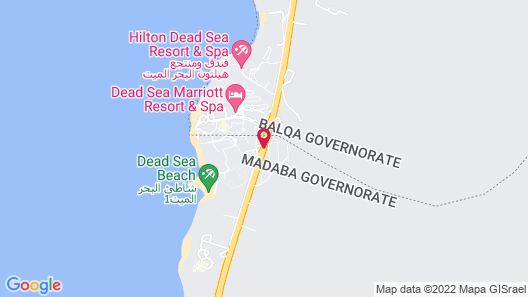 Kempinski Hotel Ishtar Dead Sea Map