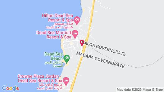 Movenpick Resort and Spa Dead Sea Map