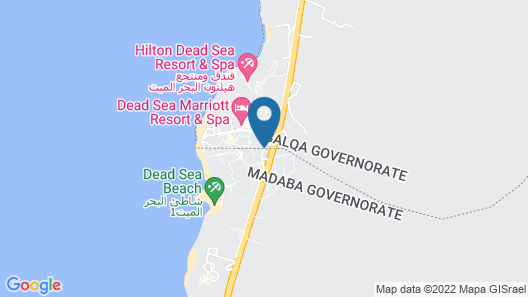 Movenpick Resort and Spa Dead Sea Map