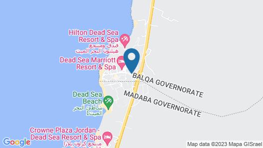 Dead Sea Marriott Resort & Spa Map