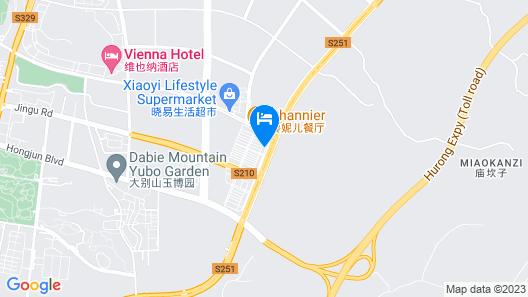 GreenTree Inn Liuan Jinzai County Dabie Mouantain Business Hotel Map