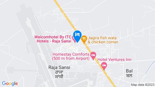 Welcomhotel by ITC Hotels, Raja Sansi, Amritsar Map