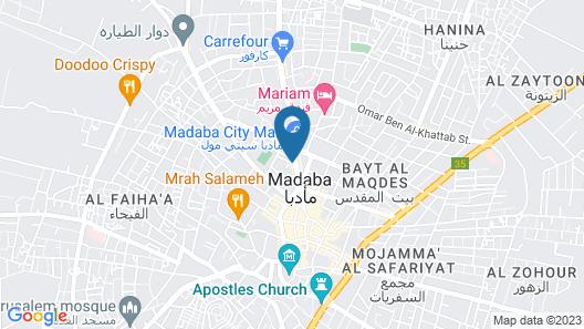 Mosaic City Hotel Map