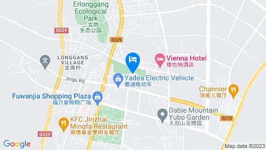 Vatica Liuanjinzai Guihua Park Hotel Map
