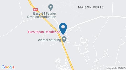 Euro Japan Residence Map