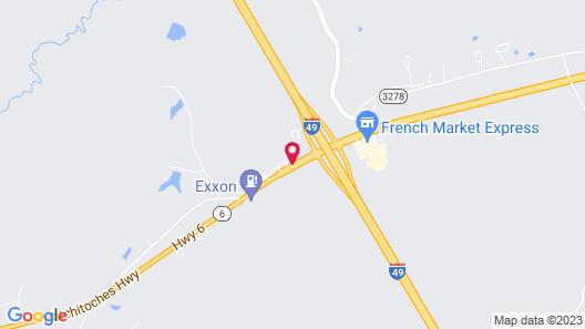 Hampton Inn Natchitoches Map