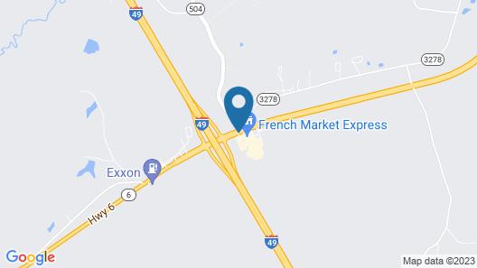 Best Western Natchitoches Inn Map