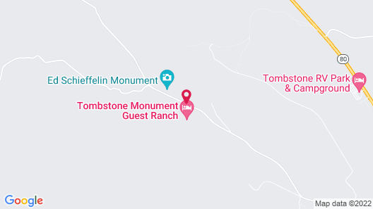Tombstone Monument Guest Ranch Map