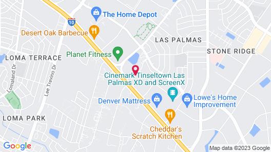 Red Roof Inn PLUS+ El Paso East Map