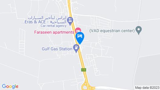 Amman Airport Hotel Map