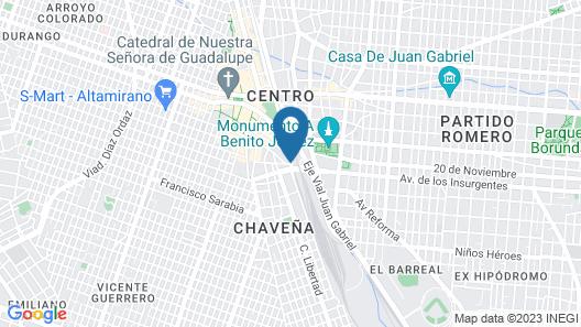 Hotel Campesino Map