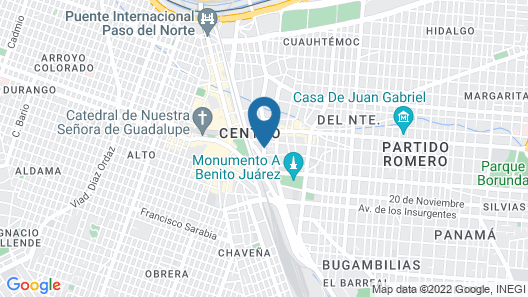 Hotel Correo Map