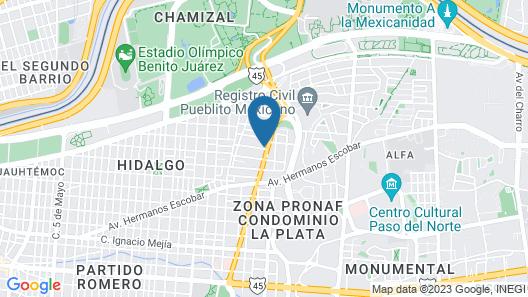 Villa Manport Map