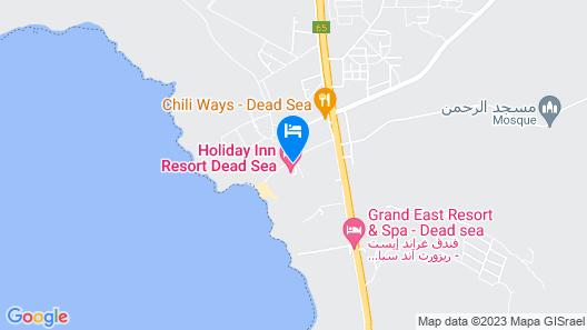 Holiday Inn Resort Dead Sea, an IHG Hotel Map