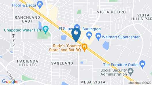 La Quinta Inn & Suites by Wyndham El Paso East Map