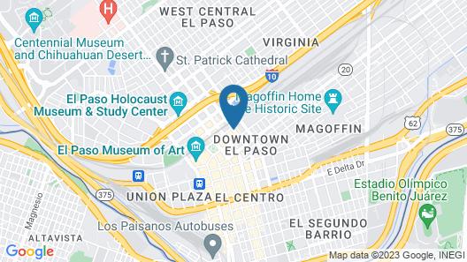 Hotel Indigo El Paso Downtown, an IHG Hotel Map