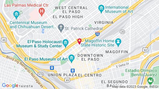 HI Express El Paso Downtown, an IHG Hotel Map