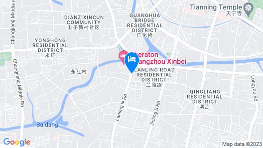 Holiday Inn Express Changzhou Lanling, an IHG Hotel Map
