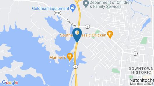 Super 8 by Wyndham Natchitoches Map