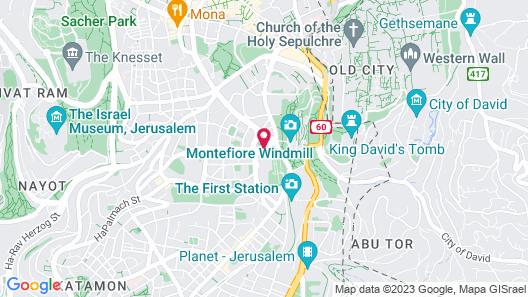 The Inbal Jerusalem Map