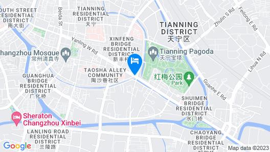 Atour Hotel Middle Yanlin Road Changzhou Map