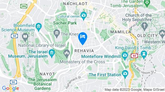Jerusalem Castle Hotel Map