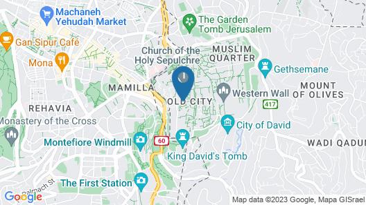 New Petra Hostel Map