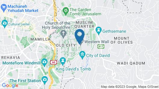 Chain Gate Hostel Map