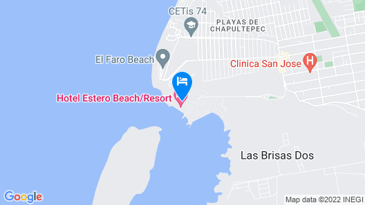 Estero Beach Hotel & Resort Map
