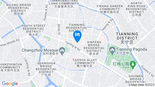 Jinling Mingdu Hotel Changzhou Map