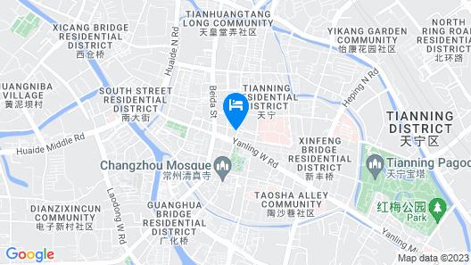 Detan Hotel - Changzhou Map