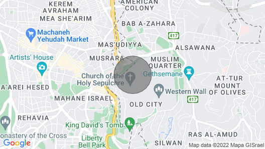 Charming place in the heart of Jerusalem! Map