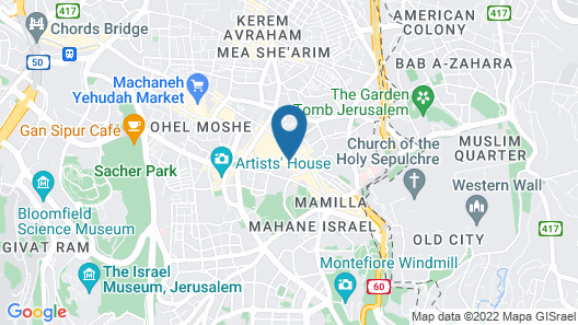 Harmony - an Atlas Boutique Hotel Map